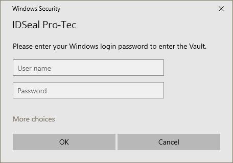image windows security login